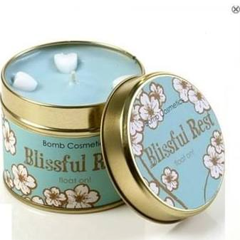 BOMB COSMETICS TINNED CANDLE BLISSFUL REST
