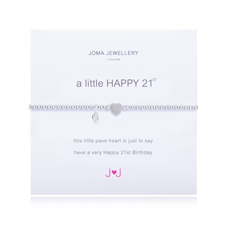 JOMA A LITTLE HAPPY 21ST BRACELET