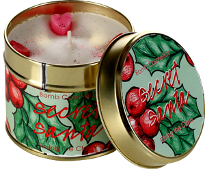 BOMB COSMETICS TINNED CANDLE SECRET SANTA