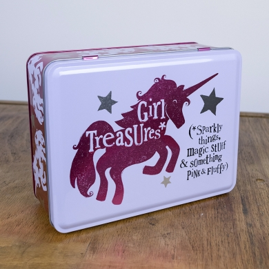 BRIGHT SIDE UNICORN TIN