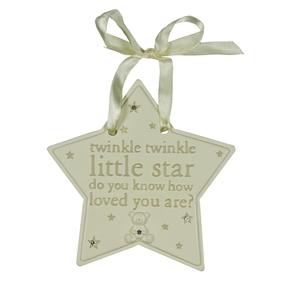 TWINKLE TWINKLE RESIN STAR