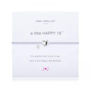 JOMA A LITTLE HAPPY 18TH BRACELET