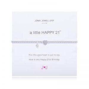 JOMA A LITTLE HAPPY 21ST BRACELET