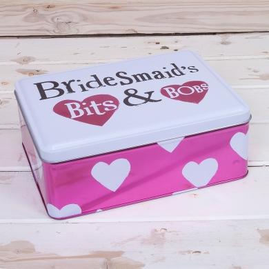 BRIGHT SIDE BRIDESMAIDS BITS AND BOBS TIN