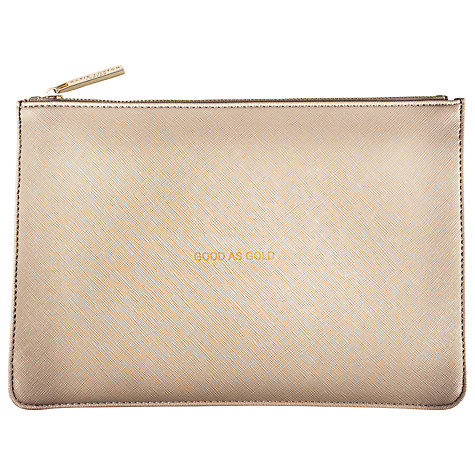 KATIE LOXTON PERFECT POUCH GOLD (GOOD AS GOLD)