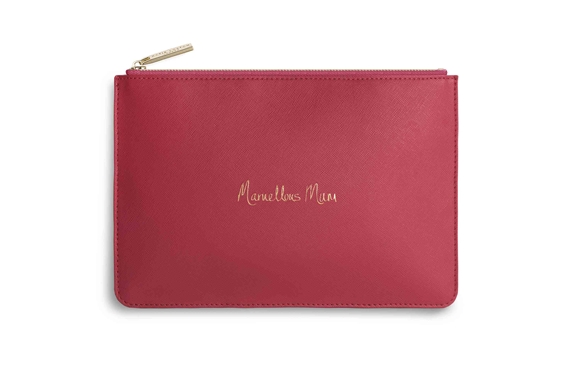 KATIE LOXTON PERFECT POUCH MARVELLOUS MUM BRIGHT PINK