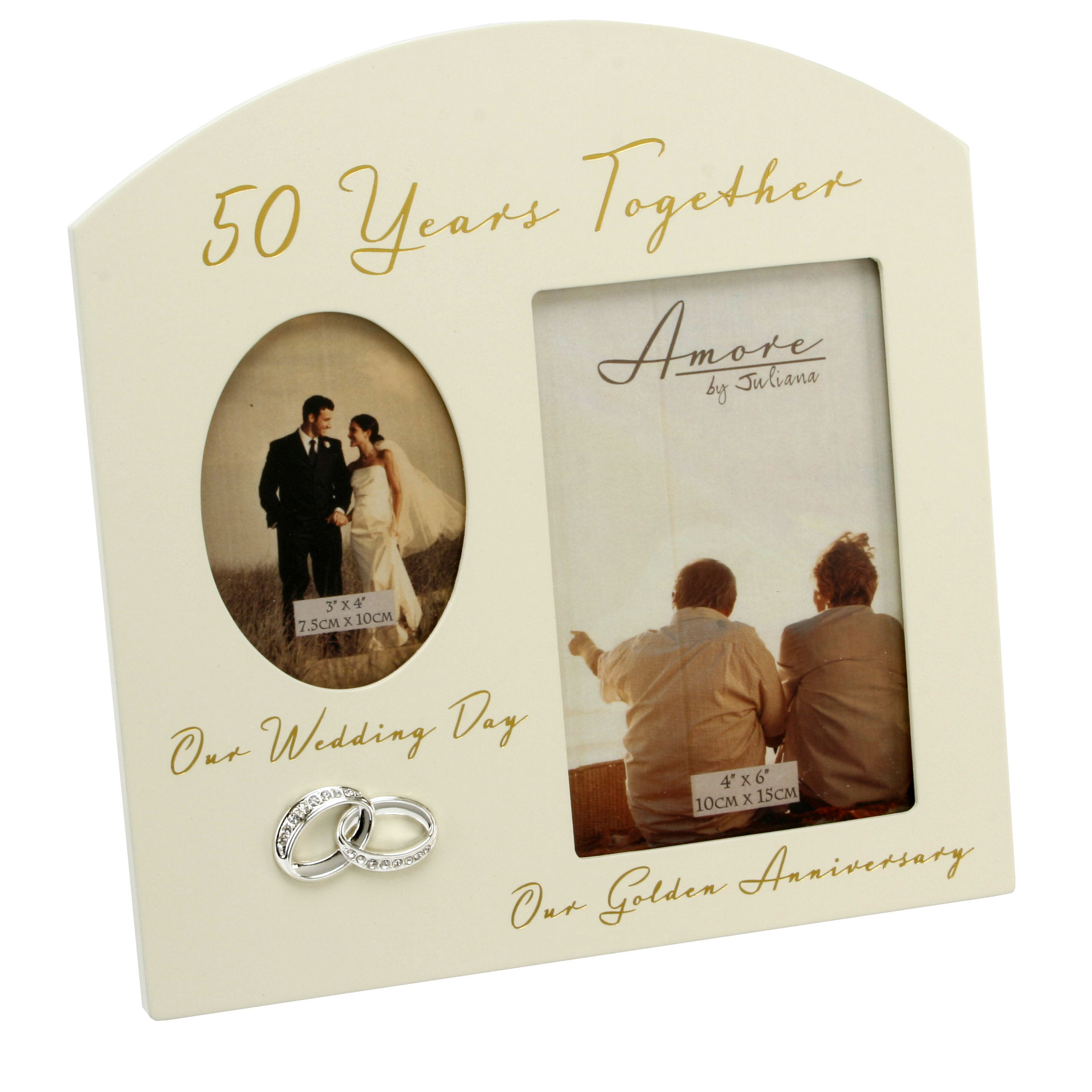 50TH WEDDING ANNIVERSARY FRAME – Homely Gifts
