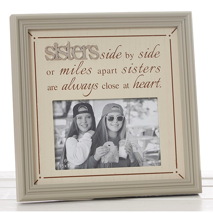 SISTERS SIDE BY SIDE FRAME – Homely Gifts
