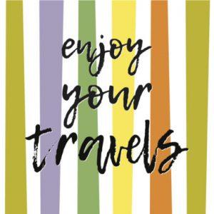 TRAVEL+BON VOYAGE+WELCOME BACK