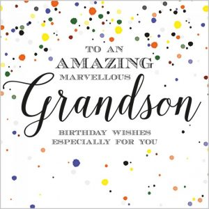 GRANDSON+GREAT GRANDSON